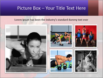 Cross Fit Female Master PowerPoint Template - Slide 19