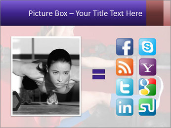 Cross Fit Female Master PowerPoint Template - Slide 21
