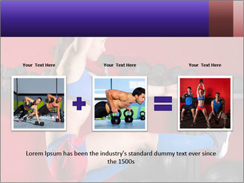 Cross Fit Female Master PowerPoint Template - Slide 22