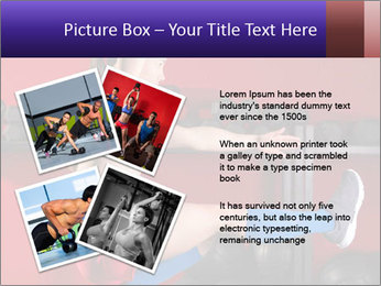 Cross Fit Female Master PowerPoint Template - Slide 23