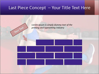 Cross Fit Female Master PowerPoint Template - Slide 46