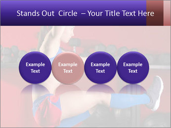 Cross Fit Female Master PowerPoint Template - Slide 76