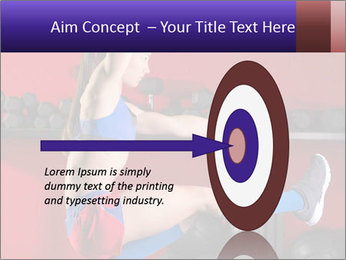 Cross Fit Female Master PowerPoint Template - Slide 83