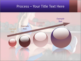 Cross Fit Female Master PowerPoint Template - Slide 87