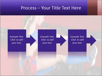 Cross Fit Female Master PowerPoint Template - Slide 88