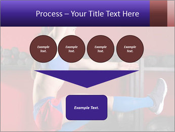 Cross Fit Female Master PowerPoint Template - Slide 93