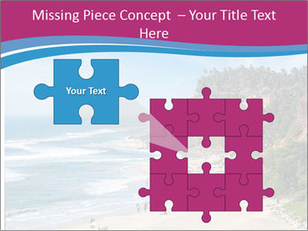 Varkala Beach PowerPoint Templates - Slide 45