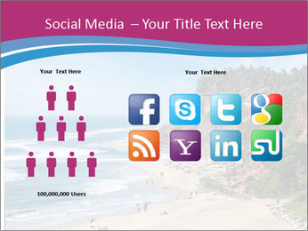 Varkala Beach PowerPoint Templates - Slide 5