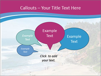 Varkala Beach PowerPoint Templates - Slide 73