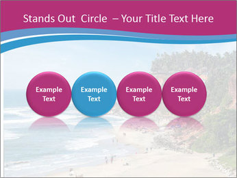 Varkala Beach PowerPoint Templates - Slide 76