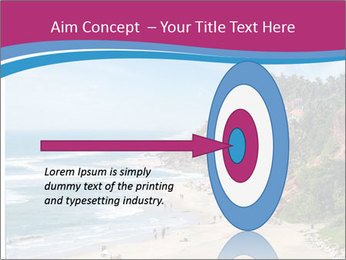 Varkala Beach PowerPoint Templates - Slide 83
