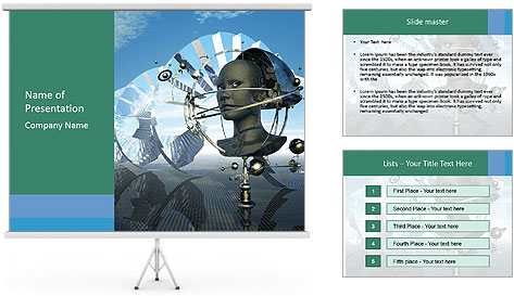 Futuristic Concept PowerPoint Template
