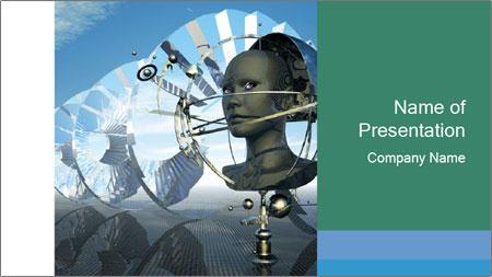 Futuristic Concept PowerPoint Template