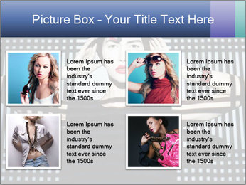 The supermodel, fashion world. PowerPoint Templates - Slide 14