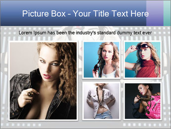 The supermodel, fashion world. PowerPoint Templates - Slide 19