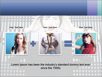 The supermodel, fashion world. PowerPoint Templates - Slide 22