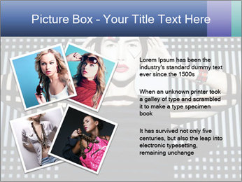 The supermodel, fashion world. PowerPoint Templates - Slide 23