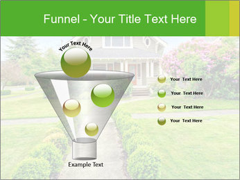 American dream. Beautiful house and green lawn. PowerPoint Template - Slide 63
