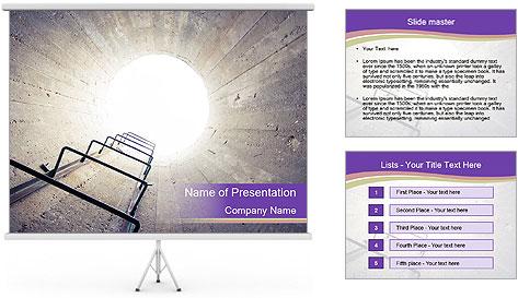 Spiritual Rebirth PowerPoint Template