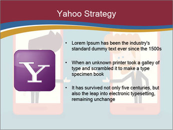 Partnership Cartoon PowerPoint Templates - Slide 11