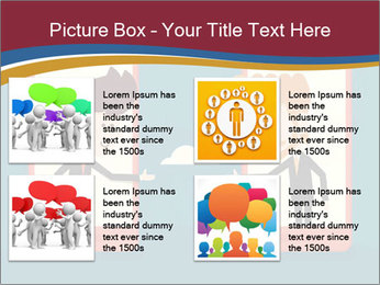 Partnership Cartoon PowerPoint Templates - Slide 14