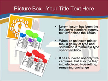 Partnership Cartoon PowerPoint Templates - Slide 17