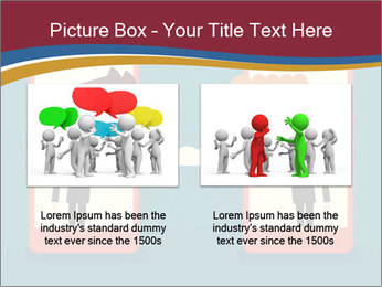Partnership Cartoon PowerPoint Templates - Slide 18