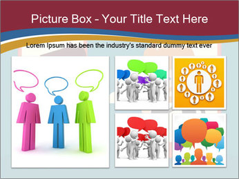 Partnership Cartoon PowerPoint Templates - Slide 19