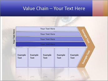Woman Applying Maskara PowerPoint Template - Slide 27