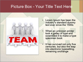 Paper Neighborhood PowerPoint Template - Slide 13