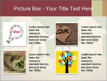 Paper Neighborhood PowerPoint Template - Slide 14