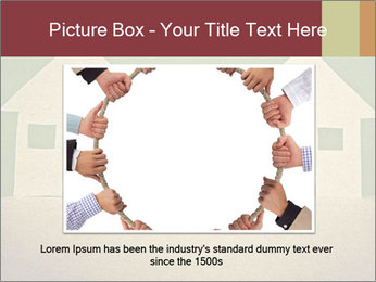 Paper Neighborhood PowerPoint Template - Slide 16