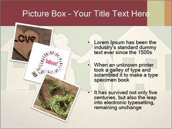 Paper Neighborhood PowerPoint Template - Slide 17