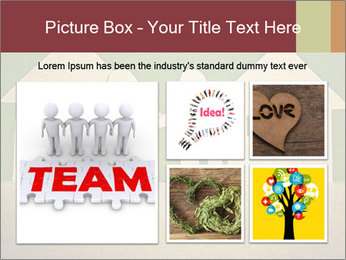 Paper Neighborhood PowerPoint Template - Slide 19