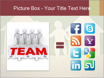 Paper Neighborhood PowerPoint Template - Slide 21