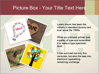 Paper Neighborhood PowerPoint Template - Slide 23