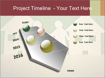 Paper Neighborhood PowerPoint Template - Slide 26