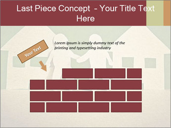 Paper Neighborhood PowerPoint Template - Slide 46