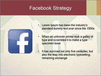 Paper Neighborhood PowerPoint Templates - Slide 6