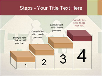 Paper Neighborhood PowerPoint Template - Slide 64