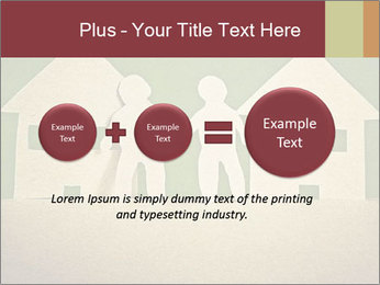 Paper Neighborhood PowerPoint Template - Slide 75