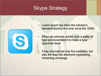 Paper Neighborhood PowerPoint Template - Slide 8