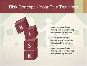 Paper Neighborhood PowerPoint Template - Slide 81