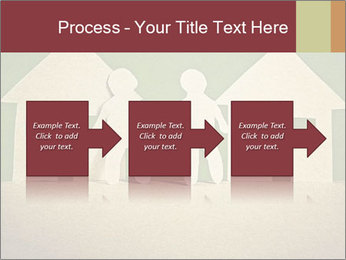 Paper Neighborhood PowerPoint Template - Slide 88
