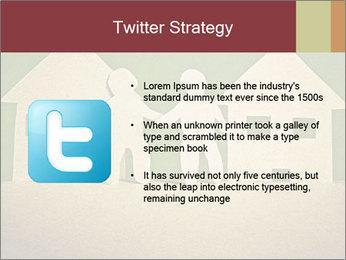 Paper Neighborhood PowerPoint Templates - Slide 9