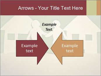 Paper Neighborhood PowerPoint Templates - Slide 90