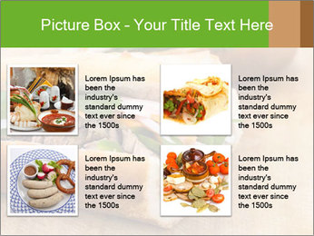 Meat Sandwich PowerPoint Templates - Slide 14