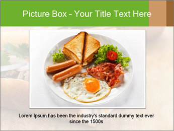 Meat Sandwich PowerPoint Templates - Slide 16