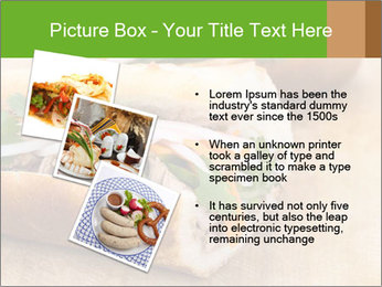 Meat Sandwich PowerPoint Templates - Slide 17