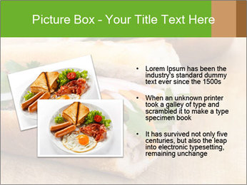 Meat Sandwich PowerPoint Templates - Slide 20